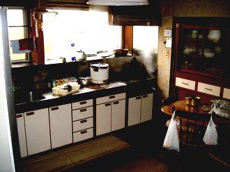 キッチンが…