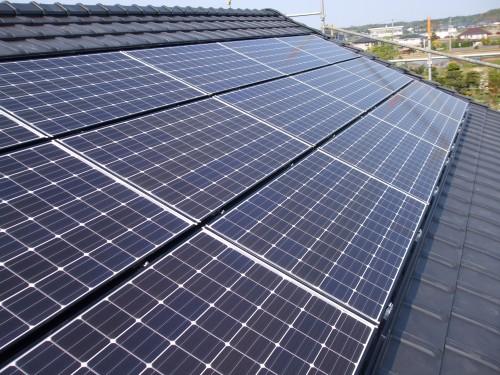 パナソニック太陽光設置